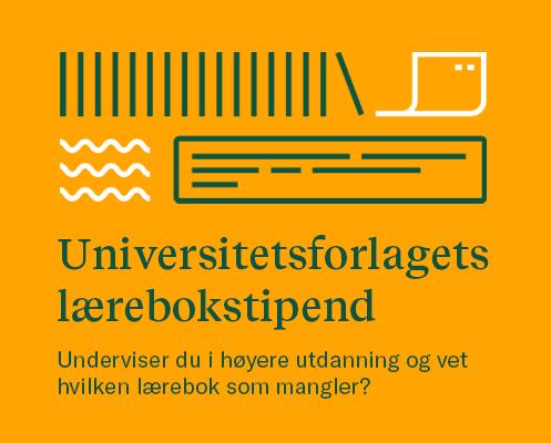 Universitetsforlagets lærebokstipend