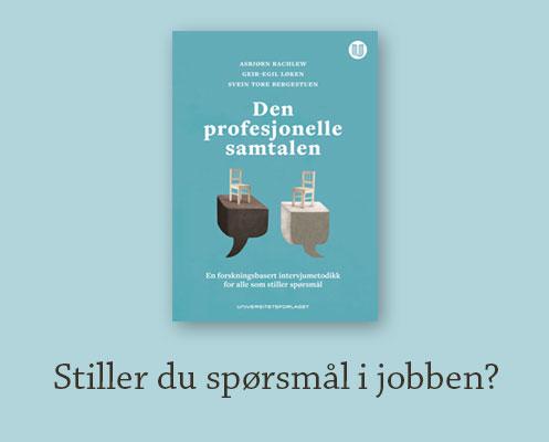 Stiller du spørsmål i jobben - Den profesjonelle samtalen