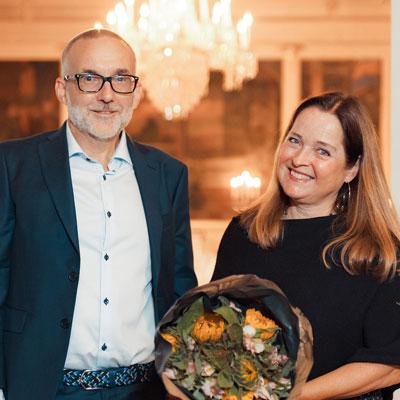 Harald H. Soleng og Eva Hadler Vihovde