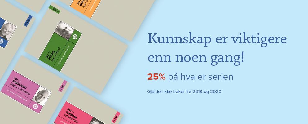 Kunnskap er viktigere enn noen gang!25% på hva er serien -Gjelder ikke bøker fra 2019 og 2020