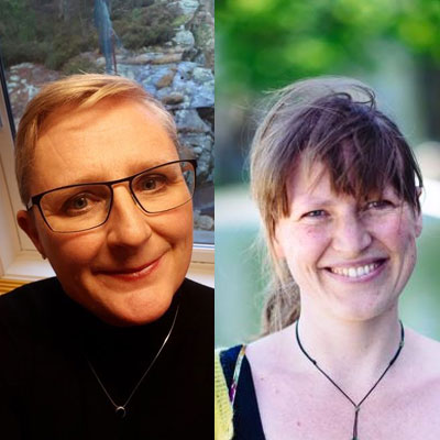 Nora Simonhjell og Ingvil Hellstrand